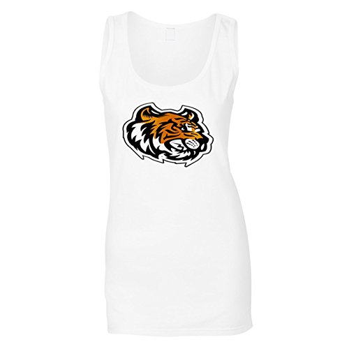(INNOGLEN Tiger Kopf Maskottchen-Logo Damen Tank top u621ft)