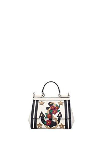 Borse a Mano Dolce&Gabbana sicily Donna - Pelle (BB6003AI059) Bianco