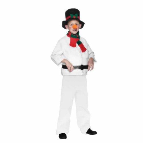 Schneemann-Kostüm Weihnachten für Kinder - 4 bis 6 (Kostüme Re 6)