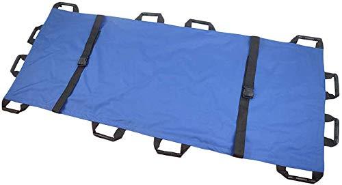 ZZYYZZ Oxford Soft Stretcher mit 12 Griffen wasserdichte, Faltbare Notfall-Rückentrage, Tragbare Transporteinheit, Kapazität 350 lbs
