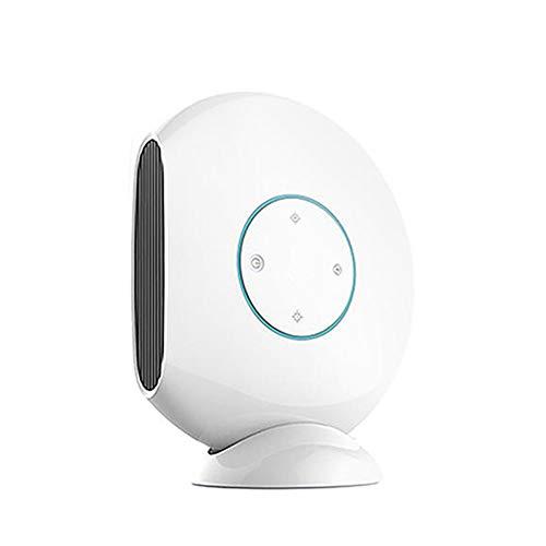 HZJA Keramik-Heizung Temperatur Klimaanlage, Mute Tragbare Elektrische Lüfterheizung, Überhitzesicherheitsschutz Nach Hause/Büro/Badezimmer Heizung Weiß -