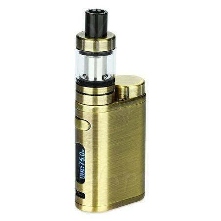 Eleaf - Full Kit iStick Pico potenza 75w Box elettronico per sigaretta elettronica senza nicotina con atomizzatore Eleaf Melo 3 Mini (Brushed Gunmetal)