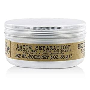 TIGI Men Bed Head B Matte Separation Workable Wax- 85g/3oz