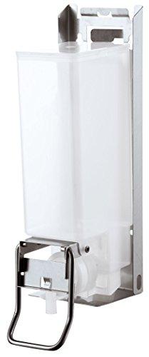 AIR-WOLF Seifen- und Desinfektionsmittelspender 1,2 Liter, Edelstahl, Serie Omega (Omega-schränke)