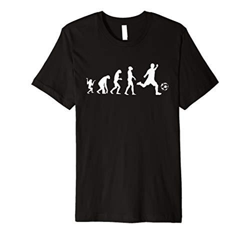Fußball Evolution Soccer T Shirt bedrucktes Funshirt