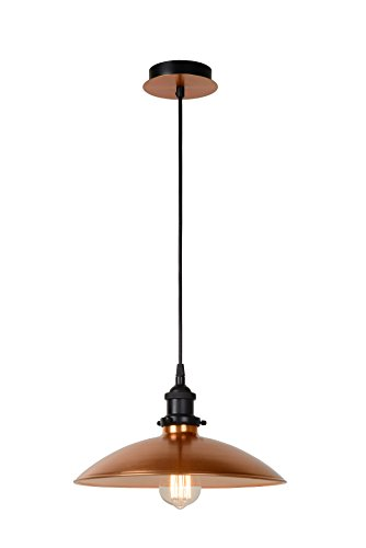 Lucide BISTRO - Suspension - Ø 32 cm - Cuivre