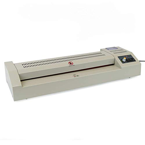 PrimeMatik - Laminateur Thermique A2 Plastifieuse de Document Chaud et Froid 800W