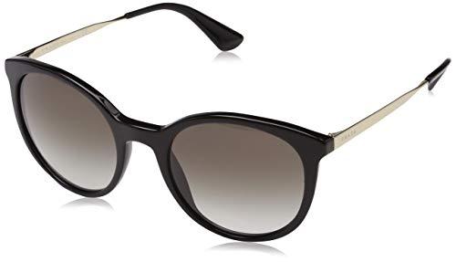 Prada Damen 0PR17SS 1AB0A7 53 Sonnenbrille, Schwarz (Black/Grey)