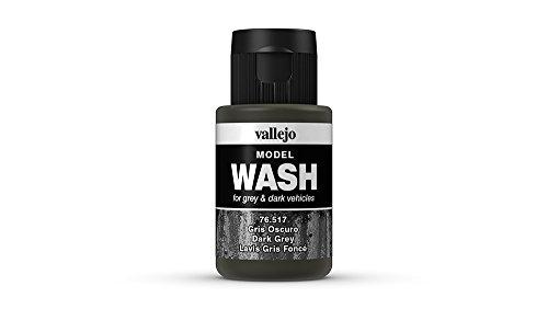 VALLEJO-3076517 76517 VALLEJO Model Wash Color Gris, Surtido (3076517