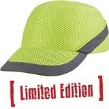 Panoply Air Coltan Safety Bump Cap Baseball Hat - High Visibility Yellow
