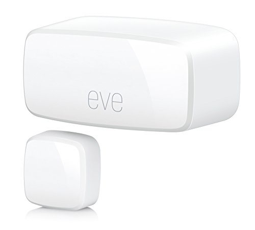Elgato Eve Door & Window  - Sensor inalámbrico de contacto con la tecnología Apple HomeKit, Bluetooth Low Energy, color blanco