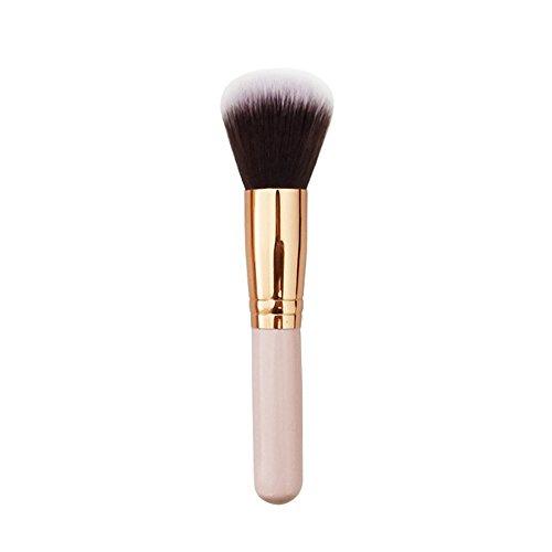 Kit De Pinceau Maquillage Professionnelbrosse CosméTique Visage Maquillage Pinceau Poudre Poudre Blush Brosse Outil De Base A Pinceau à LèVre avec Sac Nois