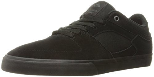 Le skate hommes Chaussures Emerica Hsu Low Vulc Chaussures de Skate noir/noir