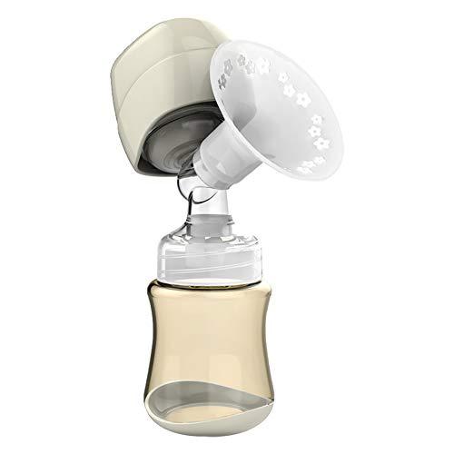 Tire-lait électrique monobloc aspiration grand tire-lait automatique silencieux collecteur de lait maternel Innovateur intégré rechargeable rechargeable Tire-lait facile doux et confortable