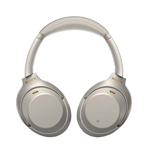 Sony WH-1000XM3 Bluetooth Noise Cancelling Kopfhörer (30h Akkulaufzeit, Touch Sensor, Headphones Connect App, Schnellladefunktion) silber - 3