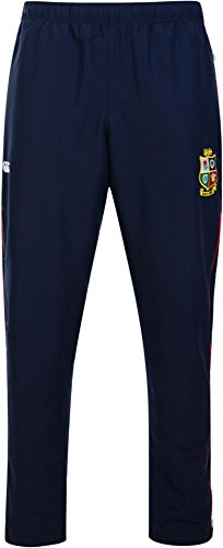 British And Irish Lions, taillierte Stadionhose für Herren, mit offenem Saum L Peacoat Blue - Irish Lions Rugby
