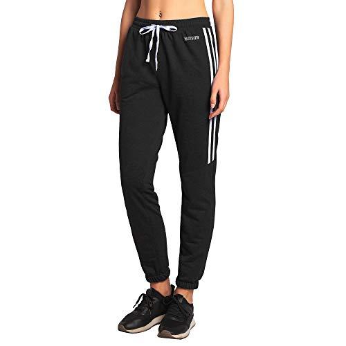 Ogeenier Deportivos Pantalones de Chándal para Mujer con transpiración y Secado rápido