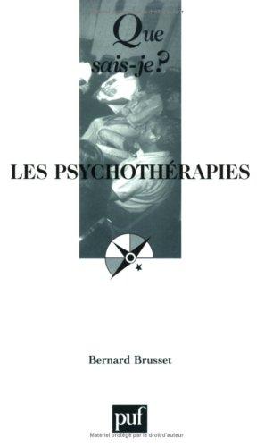Les psychothrapies