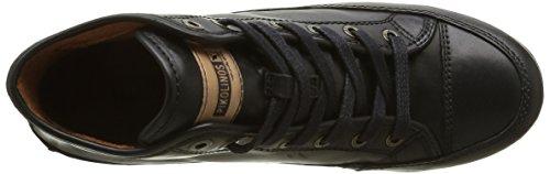 Pikolinos Lisboa W67 I16, Baskets Hautes Femme Noir (Black Edf)