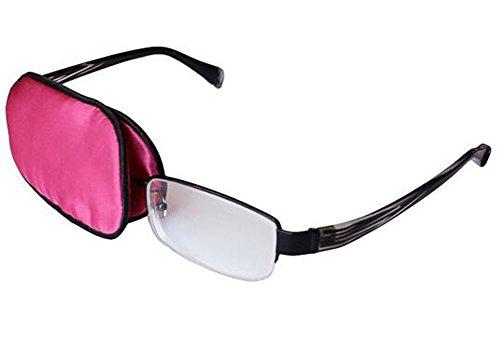 Soft et confortable soie Eye Eye Patch pour lunettes