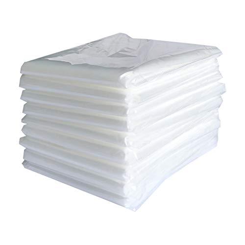 L&Y Zelte Transparente Schlafzimmer Sofa Staubschutz, Stoffbezug Schutzhülle Matratze Haushaltsbezug Computer Tuch Dekoration Kleiderschrank Universal Bettdecke (Size : 400×500cm) (Etagenbett Schlafzimmer-sets)