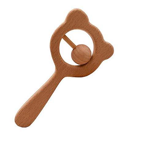lz Beißring Spielzeug Bio Rassel Spielen Gym Baby Krippe Spielzeug sensorische Aktivität Kinderkrankheiten Spielzeug Dusche Geschenk,Style1 ()