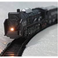 THE UNIQUE PRODUCTS Train Track Set Black Train Toy Express Train Set with Fun, Interactive, Ready to Play Holiday Model…