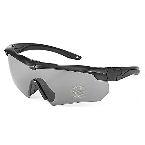 Huacaili Leichte tragbare Fahrrad Sonnenbrille Anti-Schweiß Männer Professionelle Motorradfahren Radfahren Brille MTB Fahrrad Winddicht Goggle Radfahren Ski Brillen zum Radfahren