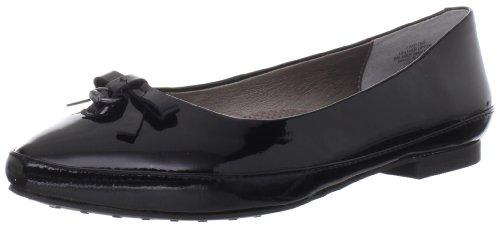 Easy Spirit Women's Keitha Flat,Black Patent,10 M US Black Patent