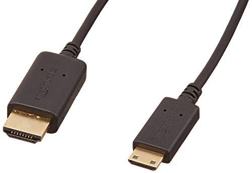 AmazonBasics - Hochgeschwindigkeits-Mini-HDMI-Kabel, mit RedMere-Technologie, 7,6 m