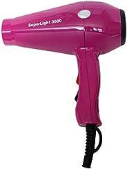 Sèche-cheveux Super Light 3500 fabriqué en Italie (fuchsia)