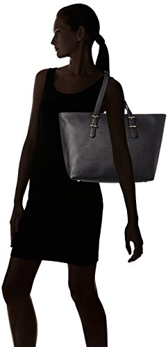 Tommy Hilfiger Ladies Th Acquirente In Fase Di Preparazione, 14 X 30 X 34 Cm Nero (nero)