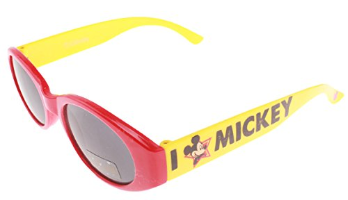 Mickey Mouse Jungen Sonnenbrille Rot rot onesize