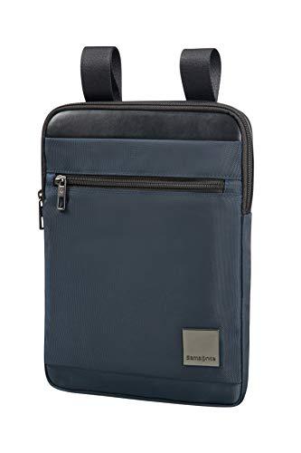 SAMSONITE Hip-Square - Tablet Cross-over L 9.7' Borsa Messenger, 29 cm, 3.5 liters, Blu (Dark Blue)