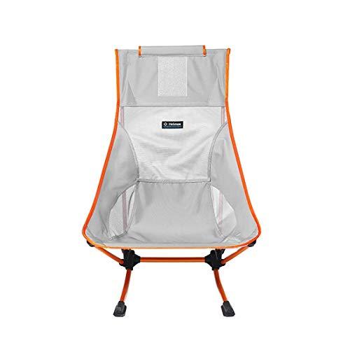 Helinox Beach Chair,Strandstuhl,Campingstuhl,Aluminium,leicht,stabil,faltbar,inkl Tragetasche,Grey,one Size