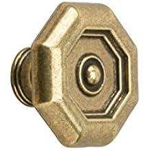 Inkl Metafranc M/öbelknopf /Ø 30 mm br/üniert Hochwertige Verarbeitung Montagematerial // Zierbeschlag // M/öbelbeschlag // M/öbelknauf // 120091 Formsch/ön /& dekorativ vermessingt