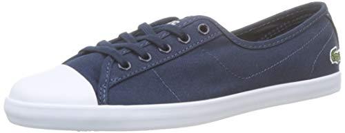 Lacoste Ziane BL 2 CFA, Zapatillas para Mujer, Azul Navy/White, 37 EU