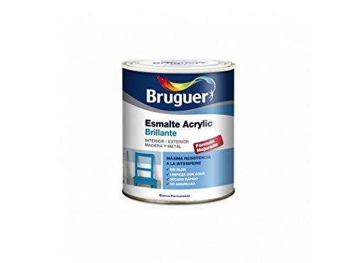Bruguer 5057557 - Esmalte acrílico brillante Acrylic VERDE MAYO