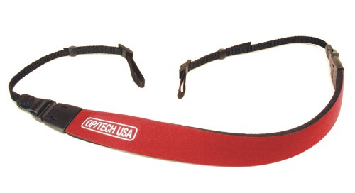 OP/TECH USA 1602412 Fashion Strap - Bino (Red)