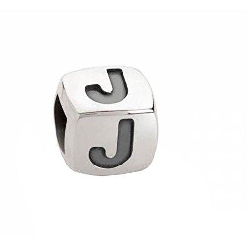 Nomination Unisex-Charm Cubiamo Classic Buchstaben J 925 Silber - 161000010 Preisvergleich