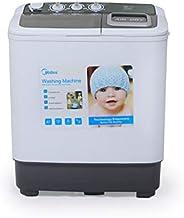 Midea Washing Machine Multi Programs 6Kg Top Load, White - MTE60P1301Q, 1 Year Warranty