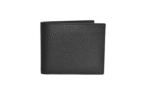GG GUCCI  Dollar Calf,  Herren Herren-Geldbörse schwarz schwarz Einheitsgröße (Gucci Leder Herren)