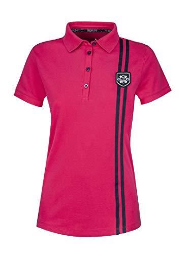 Equiline Damen Poloshirt ROYAL FS18 Farbe Reitbekleidung blau, Kleidergrößen XXL