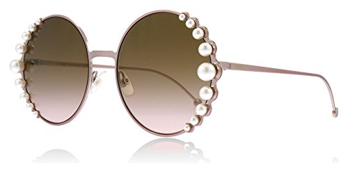 Fendi Sonnenbrillen RIBBONS AND PEARLS FF 0295/S PINK/BROWN PINK SHADED Damenbrillen (Pink Ribbon Sonnenbrille)