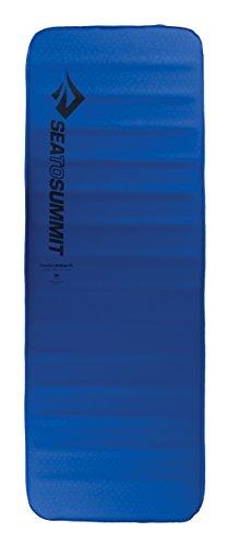 Sea to Summit Comfort Deluxe SI Matte, Normale breit, selbstaufblasend, für Camping und Rucksackreisen, Blau -