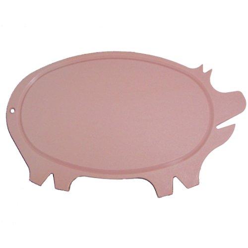 Pig Shaped Cutting Board (Linden Sweden Daloplast Pig Shaped Cutting Board, Pink by Linden)