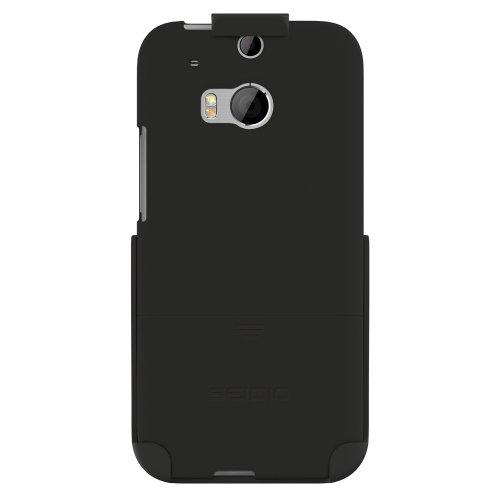 Seidio BD2-HR3HTM8-BK Surface Hülle mit Holster Combo für HTC One (M8) schwarz - Seidio Holster-design