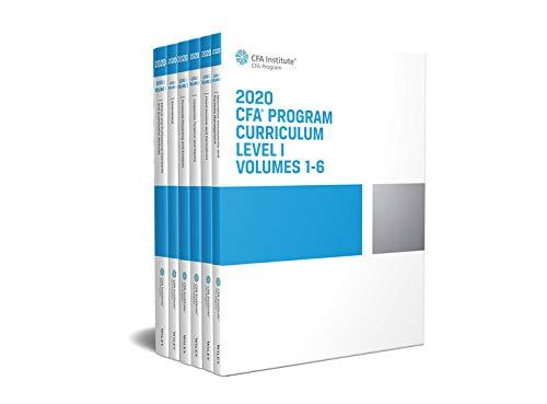 CFA Program Curriculum 2020 Level I Volumes 1-6 Box Set (CFA Curriculum 2020) (English Edition)