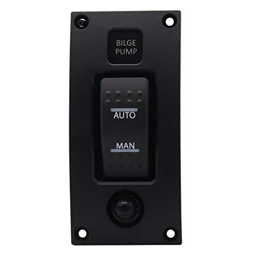 Panel De Interruptores De Bomba De Achique De 3 Vías (apagado Automático)...