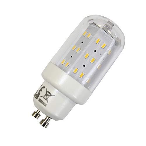 LED Leuchtmittel 4W GU10 3000K Warmweiss 230V 400lm Klar -